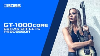 BOSS GT-1000CORE: First Impressions with Nita Strauss