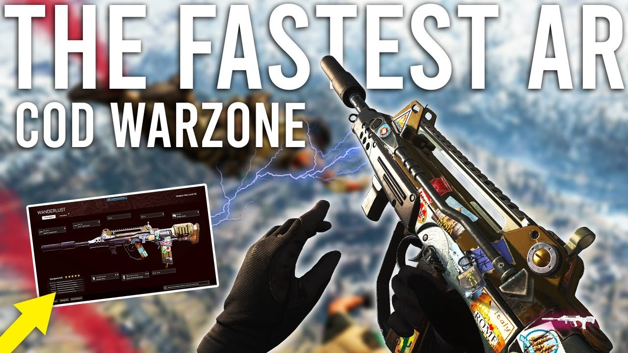 Download The Fastest Assault Rifle in COD Warzone ( Secretly Buffed... )
