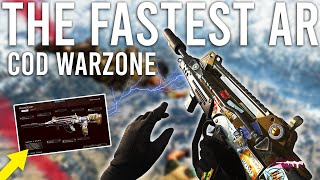 The Fastest Assault Rifle in COD Warzone ( Secretly Buffed... )