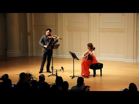 Paganini Cantabile - Ana Vidovic (guitar) and David Lisker (violin)