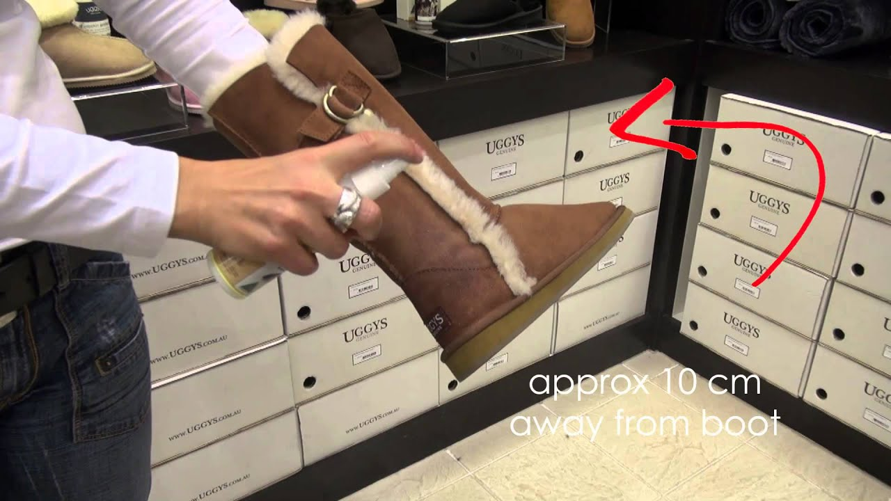 How to care for ugg boots ? | How to clean ugg boots | UGGYS Genuine - YouTube