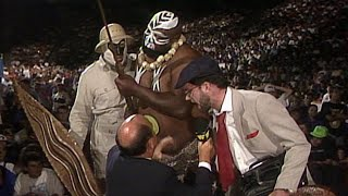 Harvey Wippleman controls Kamala: Superstars, July 11, 1992