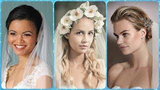TOP 20 oryginalne fryzury na wesele z welonem