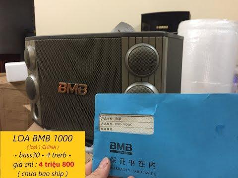 BMB1000 ( China Loại 1 ) BASS 30 đã Có Hàng, Chất âm Cực Hay, Hàng Cực đẹp Các Bác Nhé