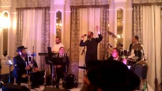 Berry Weber singing with Joel Brach's band