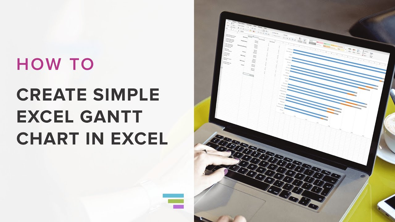 How To Create A Basic Gantt Chart In Excel 2016
