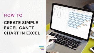 So Erstellen Sie eine einfache Gantt-Diagramm in Excel 2016 | TeamGantt