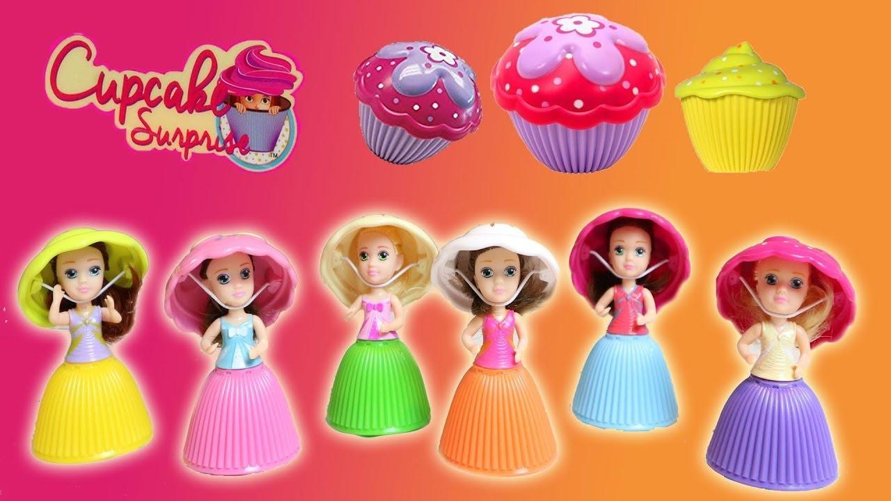 Cupcake Surprise Dolls ~ Sebuah Cake Jika Dibuka Ada Boneka Dan Cakenya  Berubah Menjadi Boneka ef7a423106