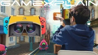 Nintendo Labo: VR Kit - Overview Trailer (VR Plaza Revealed!) thumbnail