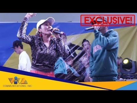 EX BATTALION and AI - AI DELAS ALAS perform their latest single 'BAGONG SIMULA'