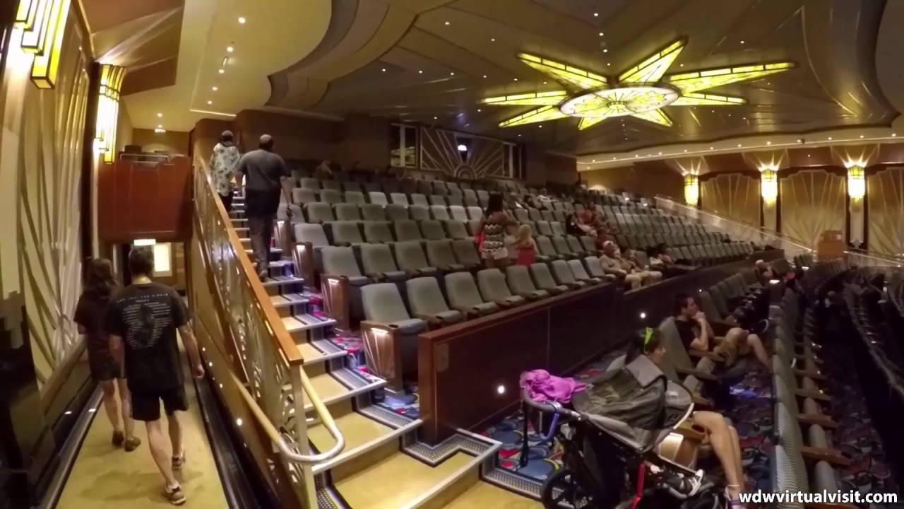 Disney Cruise Line Dream Walt Disney Theater And Shops