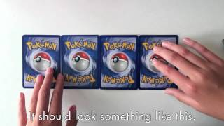 How to Make a Pokemon Card Wallet