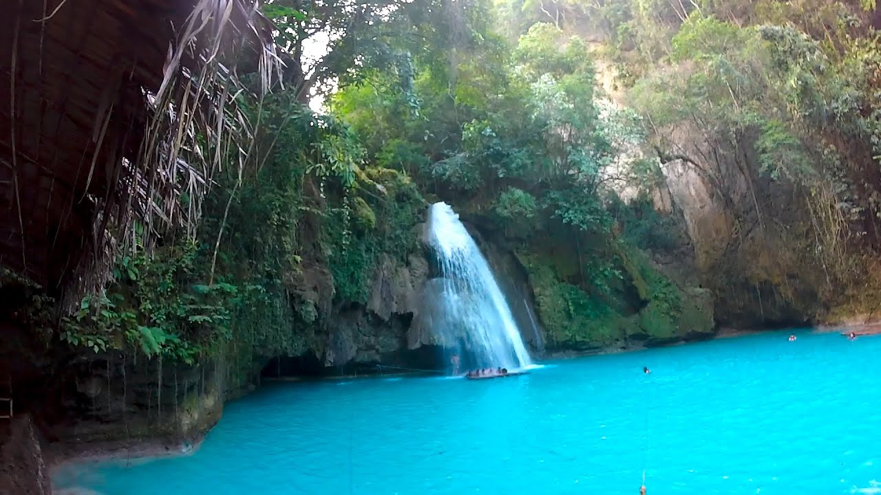 Falls Wallpaper Waterfall Canyoning Tour Bei Den Kawasan Falls In Cebu Philippinen