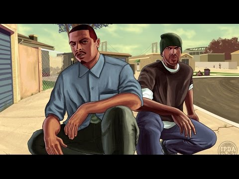 Grand Theft Auto: San Andreas All Cutscenes (Game Movie) PC