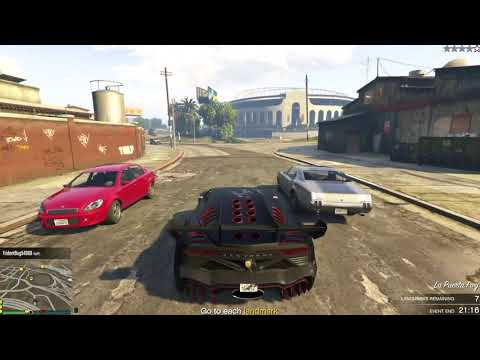 Grand Theft Auto Online (Xbox One) - Freemode Event - Hunt the Beast (Beast, Win)