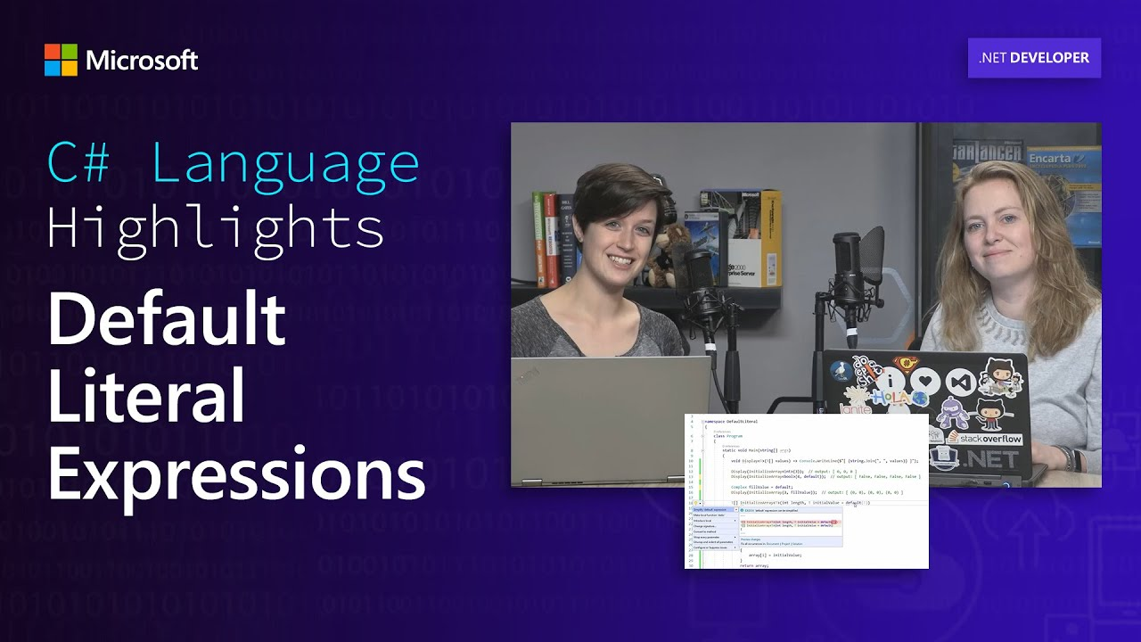 C# Language Highlights: Default Literal Expressions