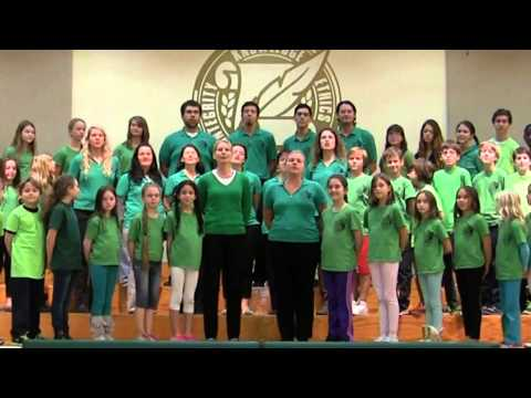Delphi Academy of Florida   Students and Staff perform SEASONS OF LOVE