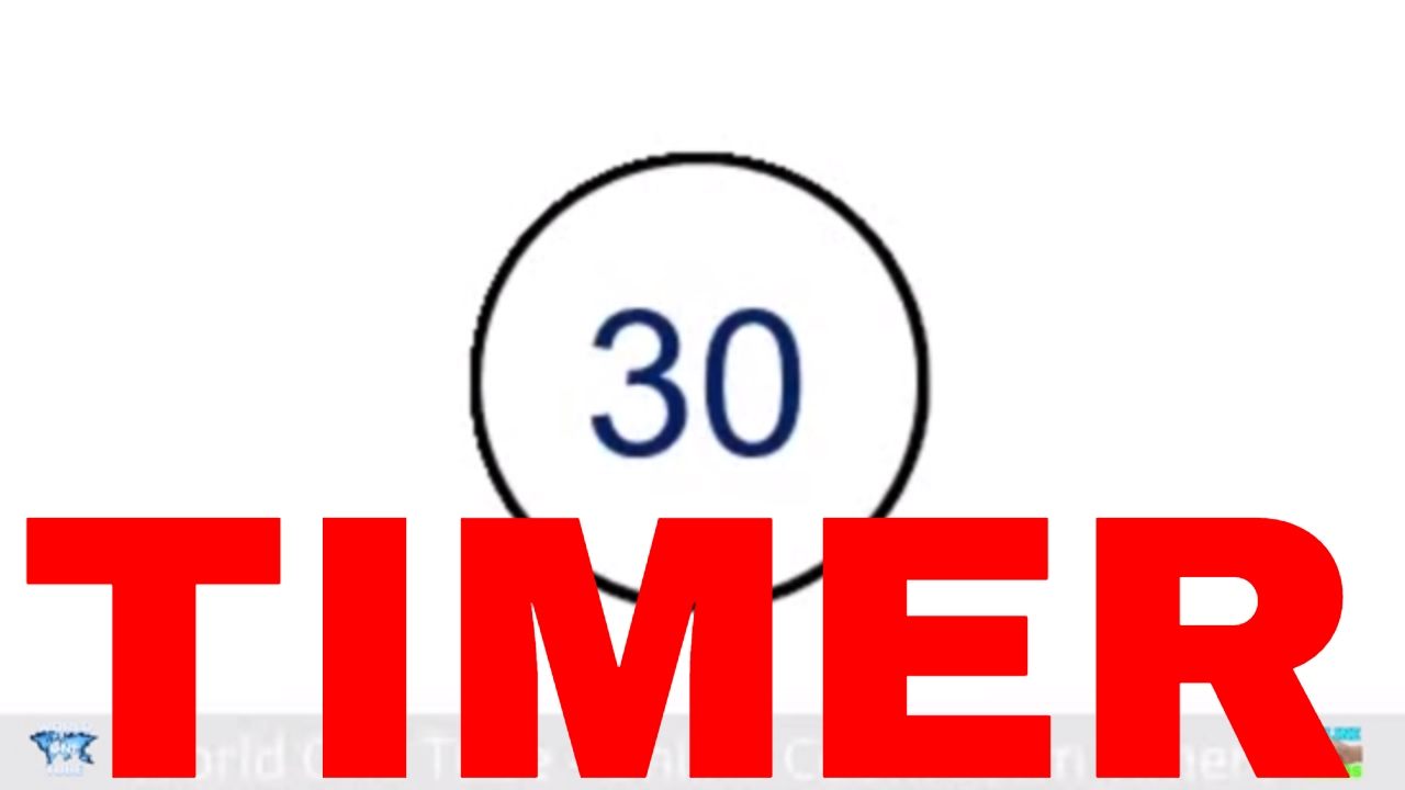 30 Seconds Timer - YouTube