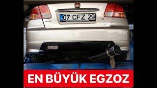 Honda Civic CFZ ye Efsane Airmass Egzoz taktık-ÖZDEN SOYDAŞ