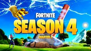 *NEW* FORTNITE SEASON 4 EVENT GAMEPLAY REVEALED! ALL DETAILS & LEAKS!: BR