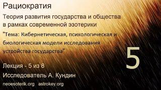 Развитие общества. Лекция 5. Новый государственный строй. Рациократия. neoesoterik.org  astrokey.org
