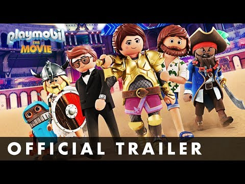 New Trailer For Playmobil: The Movie