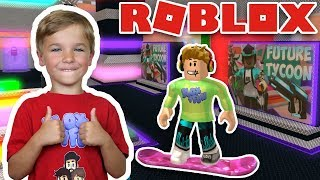AM I IN THE FUTURE?! BRAND NEW ROBLOX FUTURE TYCOON