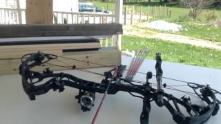 Shooting 70 yards with BowTech RPM 360