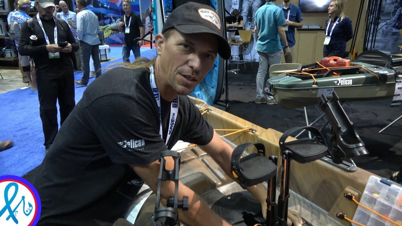 BETTER than HOBIE? Pelican Catch 130 HD HyDryve Pedal Kayak Complete  WalkThru