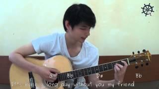 Akustik Gitar - Belajar Lagu (See You Again - Wiz Khalifa)
