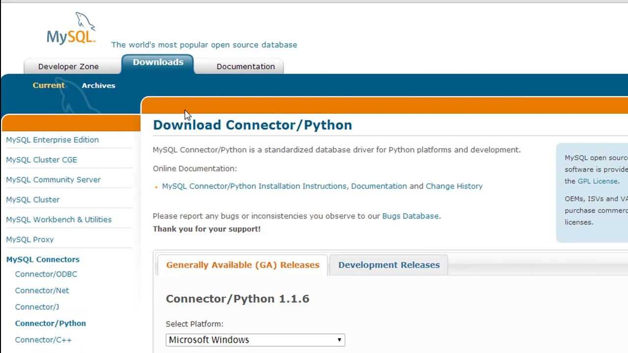 python programming tutorial - 48: install mysql connector for python