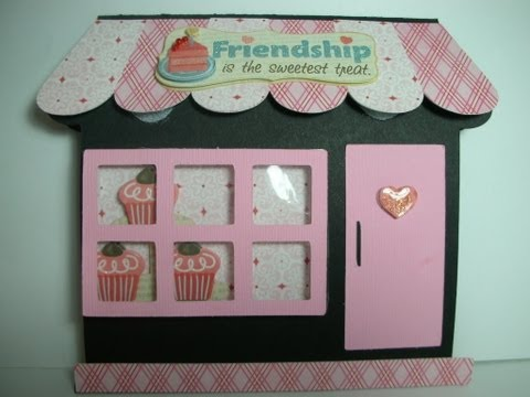 Sweet Shop Post It note holder