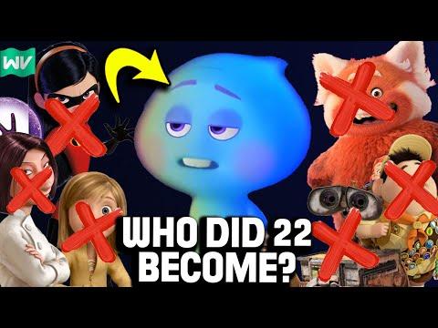 Who Did 22 Become On Earth? | Pixar Theory
