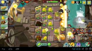 Plantas vs Zombies 2 - Mares Piratas Día 17 pc bluestacks