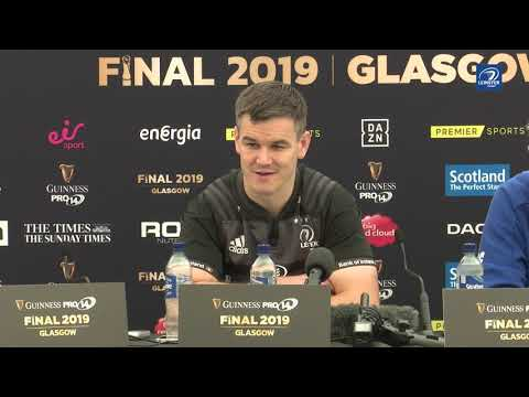 Guinness PRO14 Final - Johnny Sexton pre-match press conference | Glasgow Warriors v Leinster Rugby