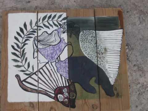 ART EXHIBITION MITILINI-LESBOS-GREECE BY CHANTALLE VAN EIJK- CHANTI
