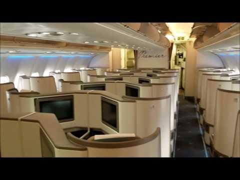 Pakistan Premier (PIA) A330-300 cabin walkthrough