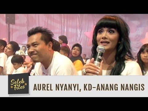 Seleb Files: Aurel Nyanyi, Krisdayanti dan Anang Menangis - Episode 60