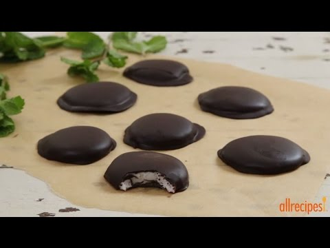 Candy Recipes - How to Make Chocolate Covered Peppermint Patties ...