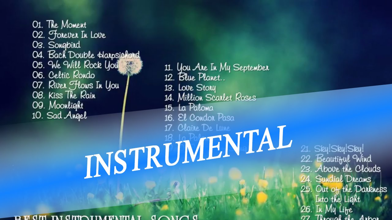 best instrumental songs of all time instrumental music collection youtube. Black Bedroom Furniture Sets. Home Design Ideas
