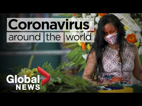 Coronavirus around the world: May 15, 2020