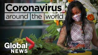 Coronavirus around the world: May 15, 2020
