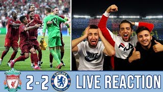 CHAMPIONS!! 🏆 LA LIGA FANS REACTION TO: THE REDS