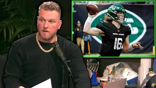 Pat McAfee's Source Says Jets Are Tanking For Trevor