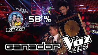 Download Juanse Laverde Ganador de La Voz Kids Colombia 2018 - Resultados Finales HD Mp3 and Videos