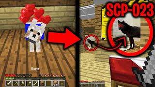 SCP-023 WAS DISGUISED AS OUR DOG in Minecraft.... (Scary Minecraft Video)