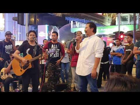 Semua Tergamam Dato M Nasir Muncul Di AP Buskers