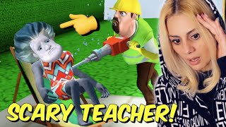 Τι είναι αυτό που έπαθε η Scary Teacher **ΣΟΚ** Concrete Plan Chapter 5 Let's Play Kristina