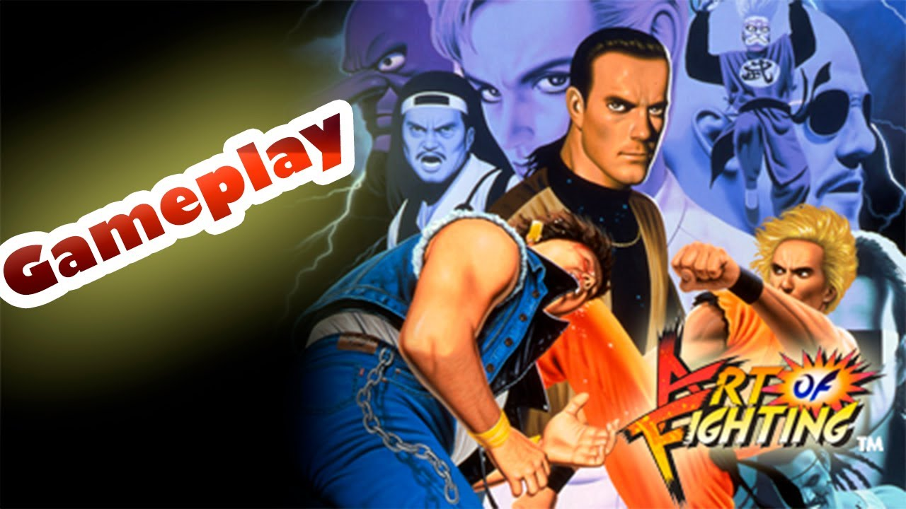 Art Of Fighting Psp Ps3 Gameplay Vuelve La Neo Geo Youtube
