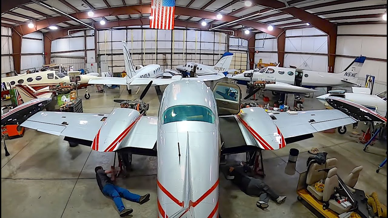 Airplane Maintenance: Magneto & Gear Inspection at TAS Aviation